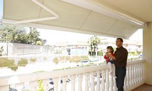 Сгъваеми сенници Athena MCA балкон 1