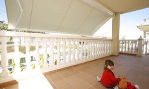 Сгъваеми сенници Athena MCA балкон 2