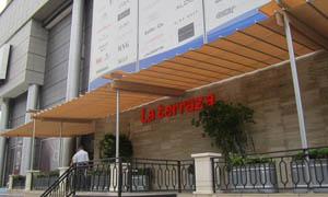 сгъваеми перголи VENUS MCA терасата на хотел 3