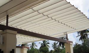 сгъваеми перголи VENUS MCA терасата на ресторант 2
