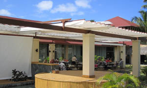 сгъваеми перголи VENUS MCA терасата на ресторант 3