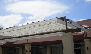 сгъваеми перголи VENUS MCA терасата на ресторант 4