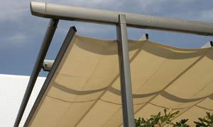 сгъваеми перголи VENUS MCA терасата на ресторант 5
