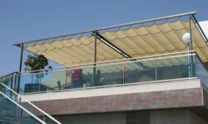 сгъваеми перголи VENUS MCA терасата на ресторант 7